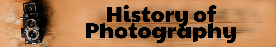 History of Photography Header link