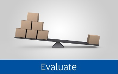 Navigate to the Evaluate page