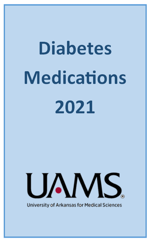 Image of the front cover of the Diabetes 2021 booklet