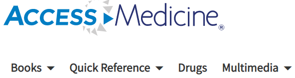 Access Medicine Ebook database
