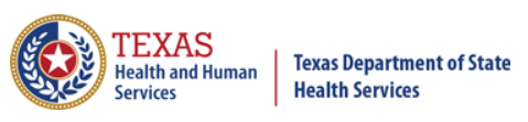 Dept of Health Services Texas