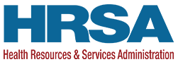 HRSA Health Resources & Services Administration logo