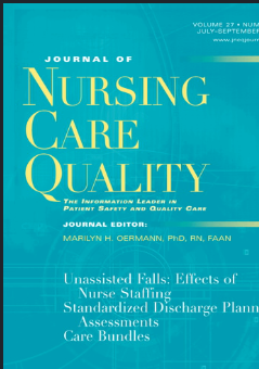 Journal of Nursing Care Quality (cover)