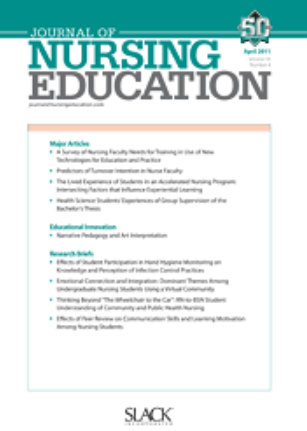 Journal of Nursing Education (cover)