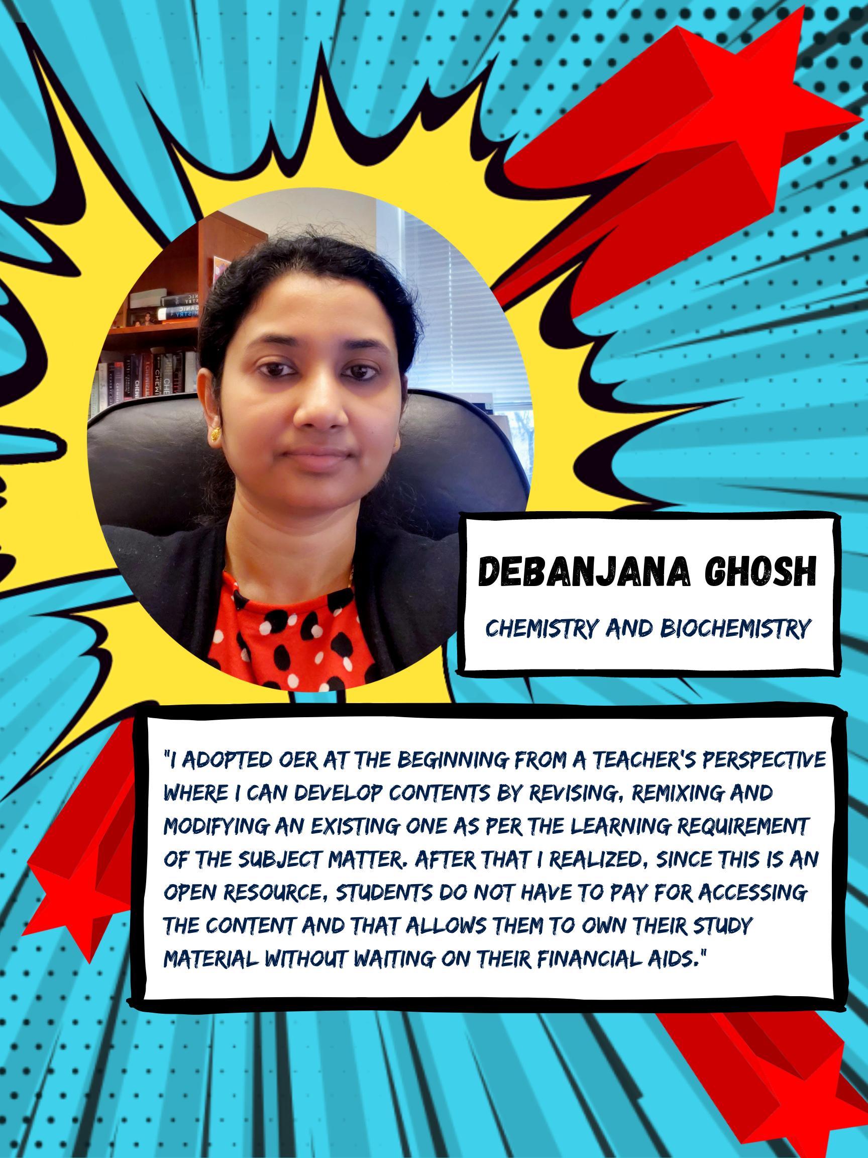 OER Heroes Debanjana Ghosh