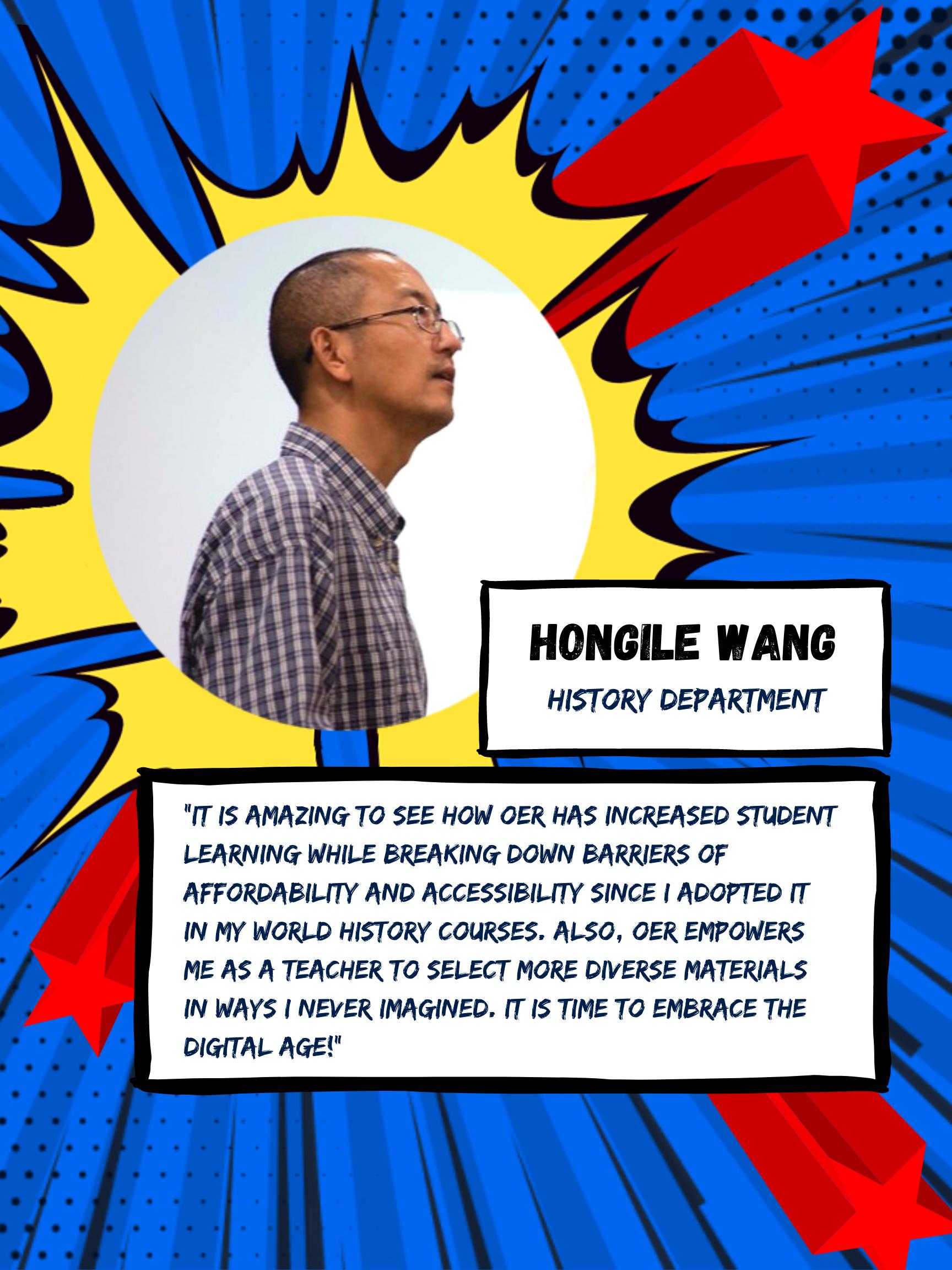 OER Heroes Hongile Wang