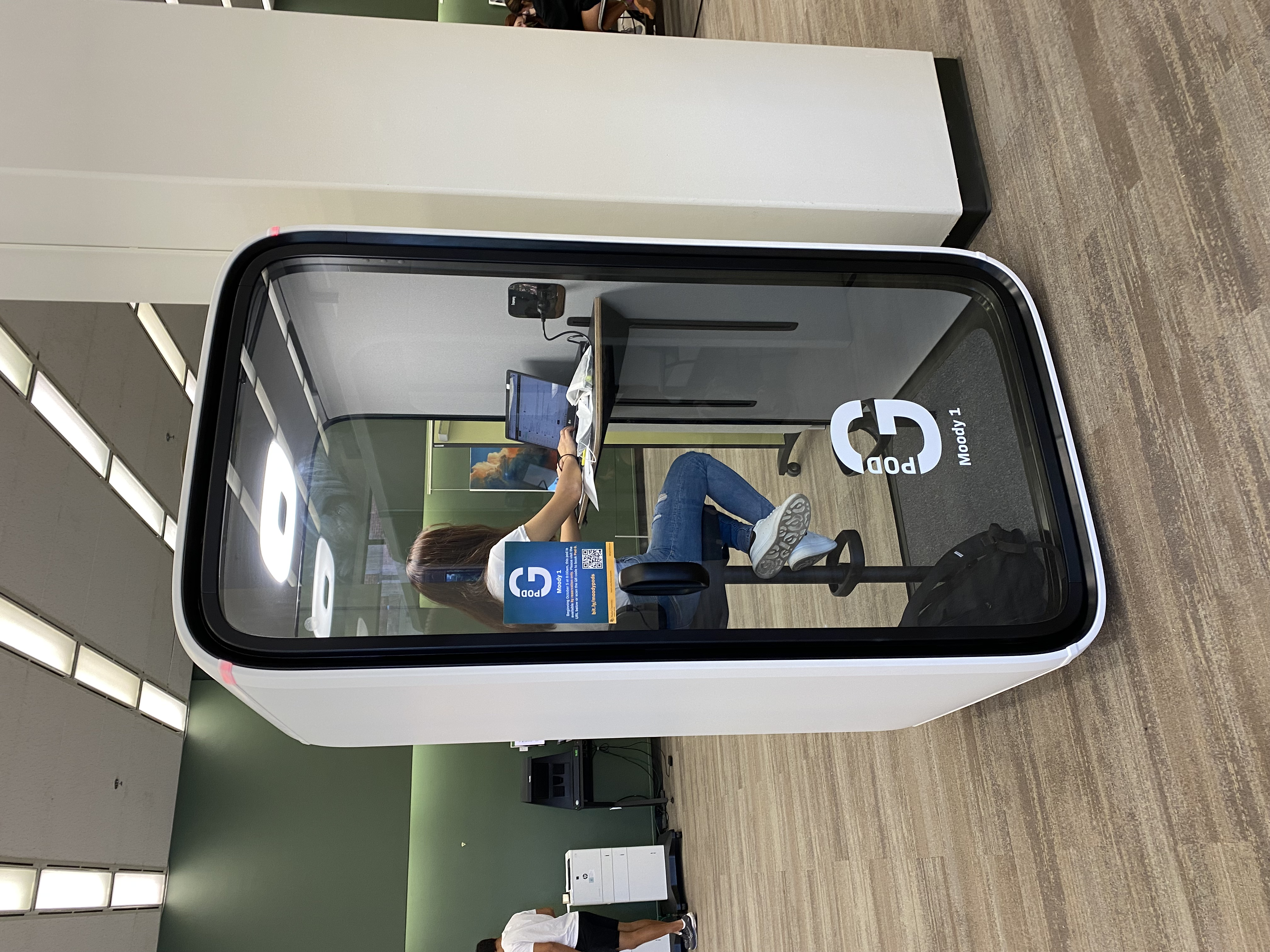 image of solo study pod example