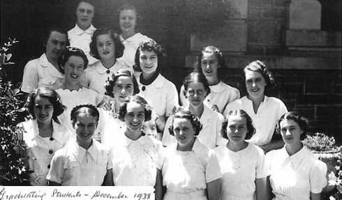 Graduating students De Lissa 1938