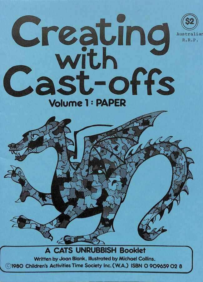 Cover of Creating with Cast-offs by Joan Blank