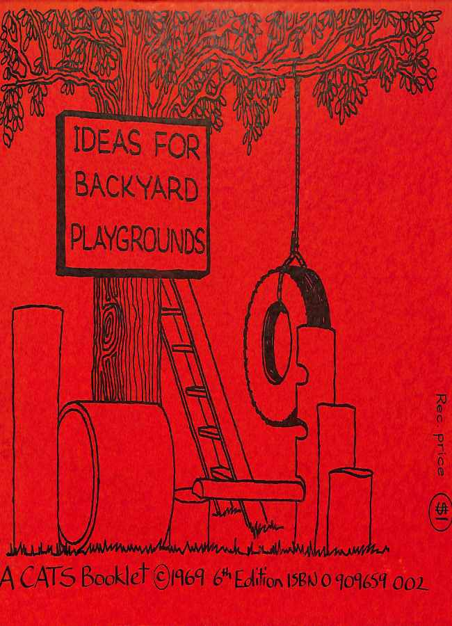 Cover of ideas for backyard playgrounds