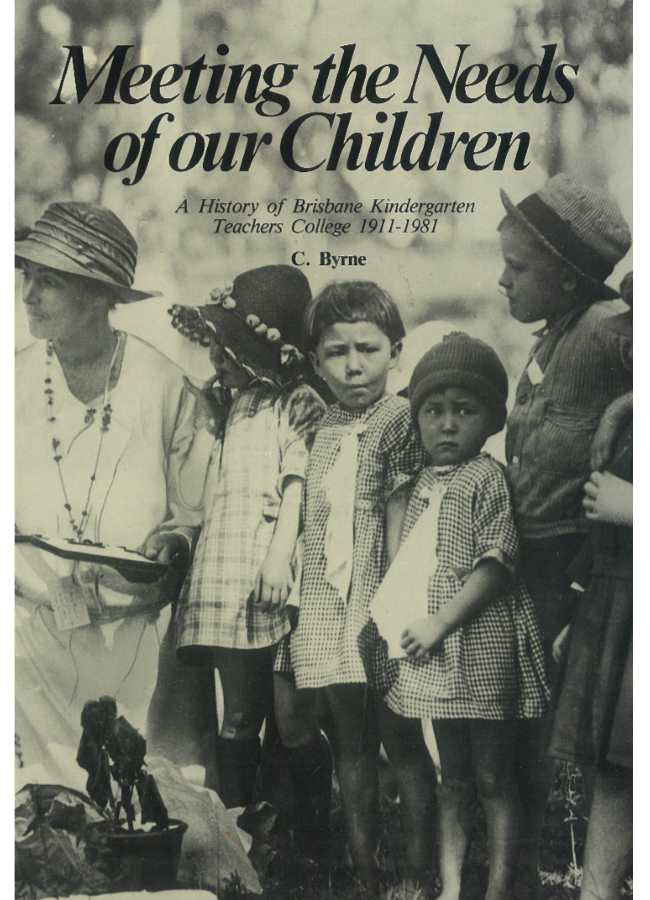 Meeting the needs of our children book cover