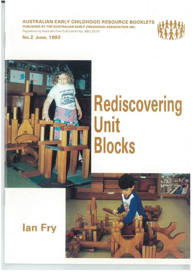 Book cover Rediscovering Unit Blocks by Ian Fry
