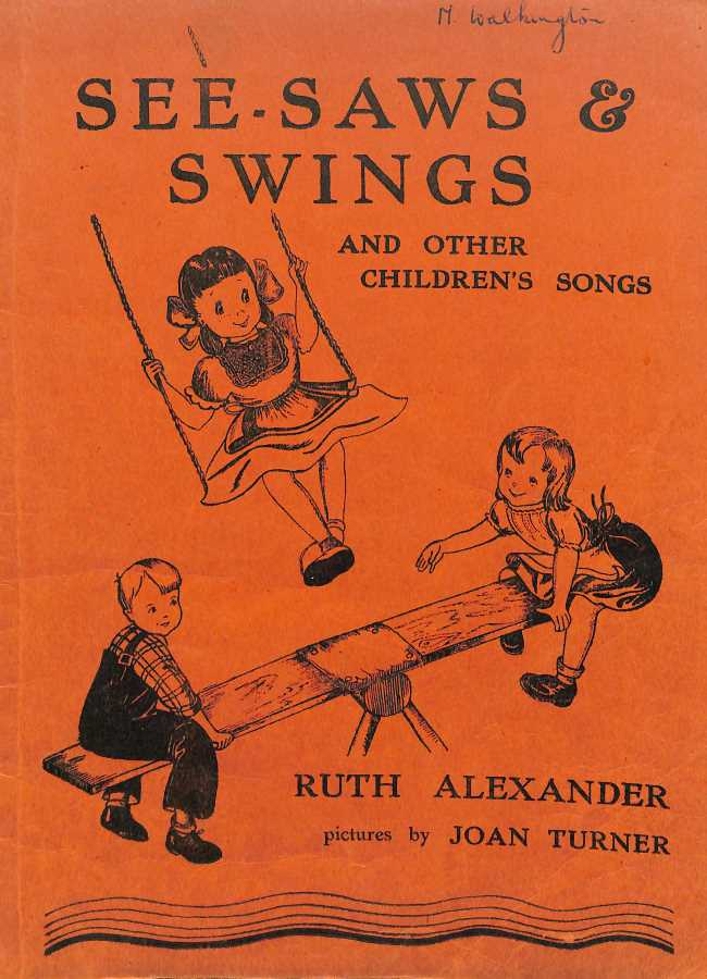 Book cover See-Saws & Swings by Ruth Alexander