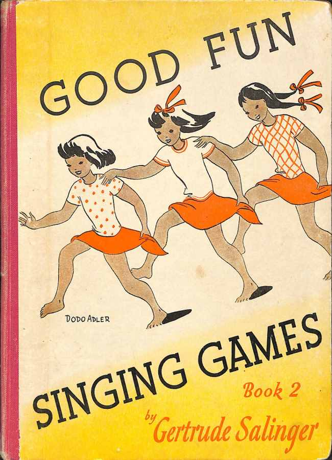 Book cover Good fun singing games Book 2