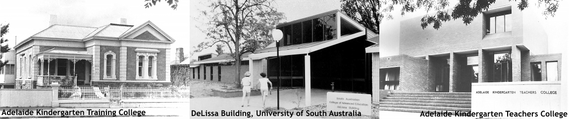 3 Adelaide Kindergarten Training College buildings