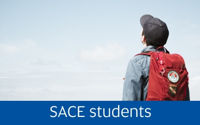 Navigate to our SACE students page
