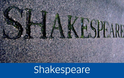 Navigate to the Shakespeare page