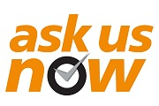 Ask Us Now logo
