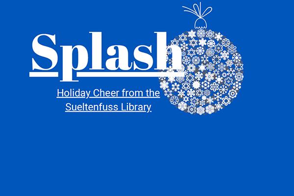 Splash Library Newsletter
