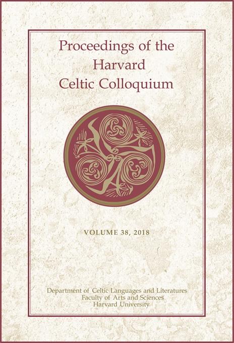 Harvard Celtic Colloquium publication cover