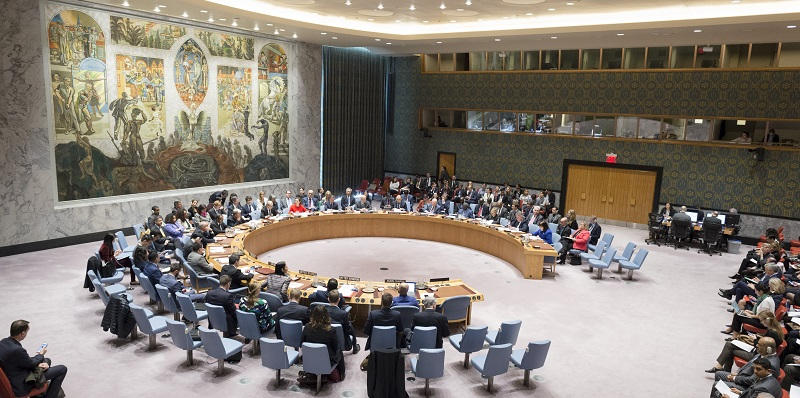 UN Photo #740924 Security Council Debates Children and Armed Conflict 2017