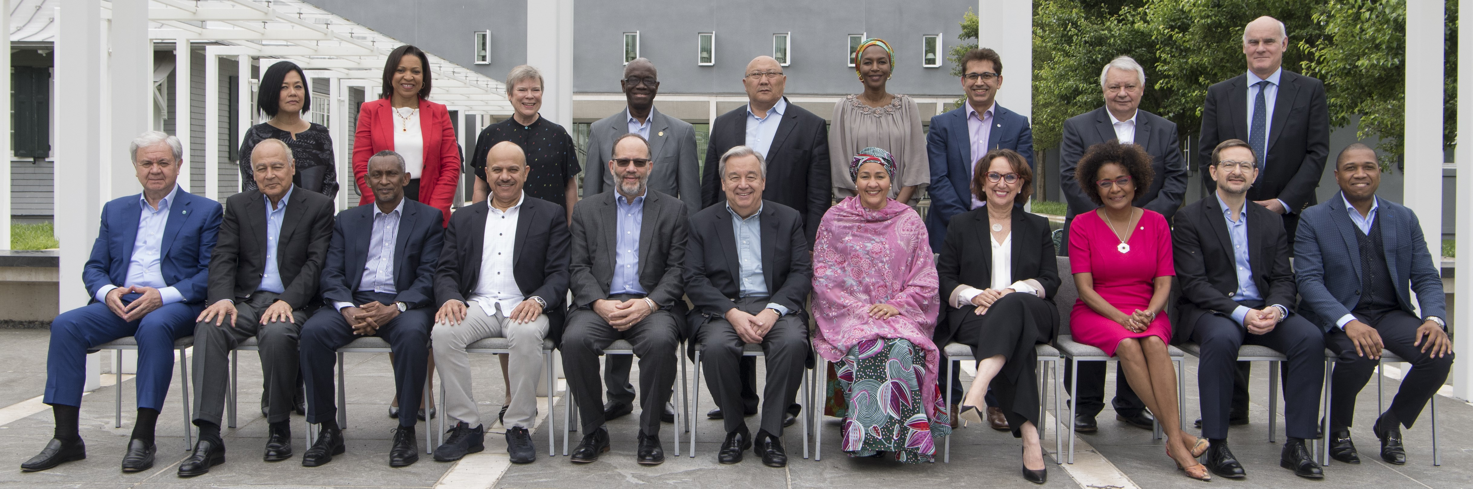 Secretary-General Guterres with heads of regional organizations, UN Photo 765627
