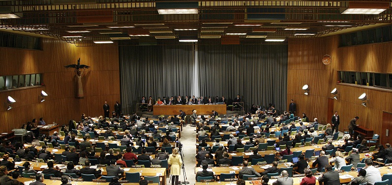 View of the Trusteeship Council: UN Photo # 420874