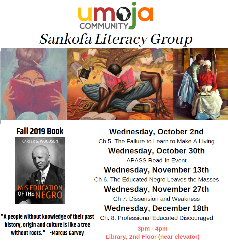 Sankofa literacy group