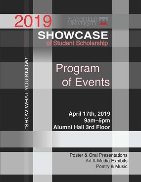 2019 Showcase of Student Scholarship