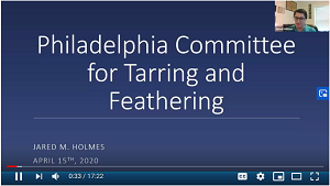 Tar and Feathering video presentation