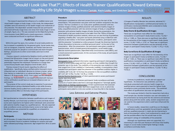 Health trainer poster