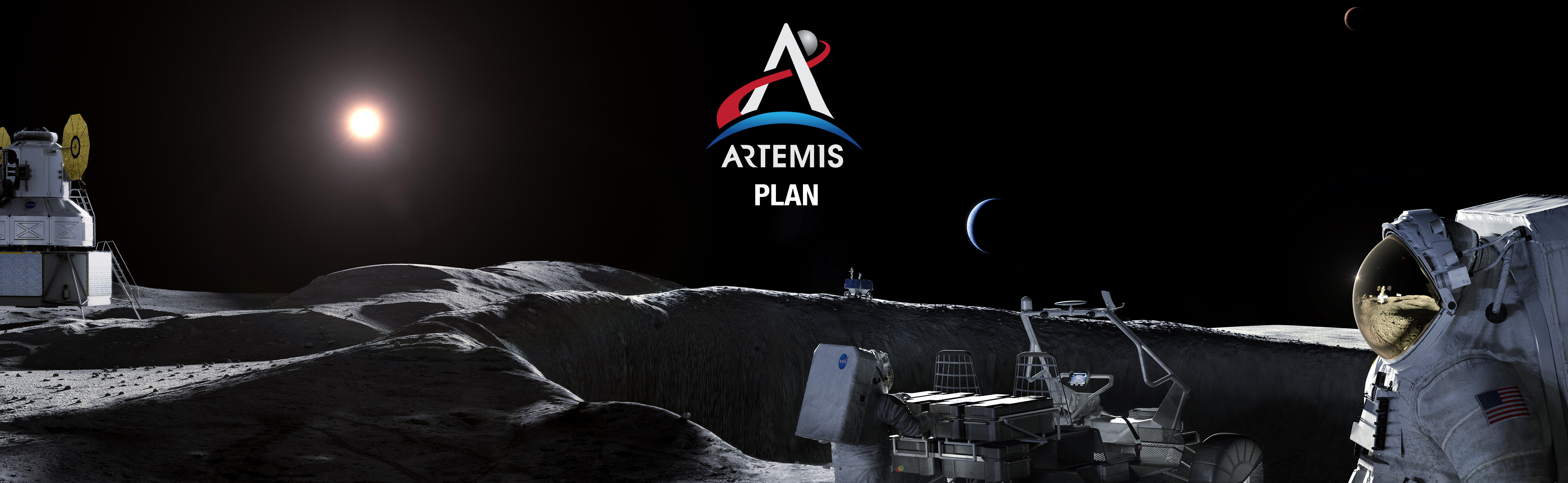 Banner with Artemis Logo