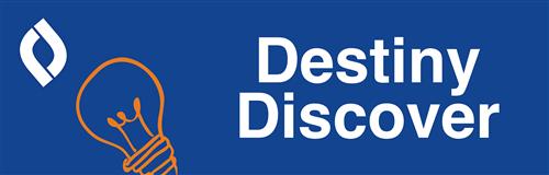 destiny discover button