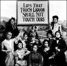 Women taking part of a prohibition protest.
