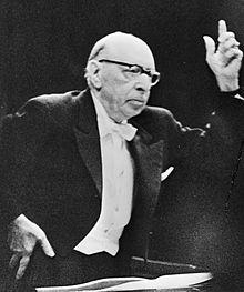 Image: Igor Stravinsky Conducting