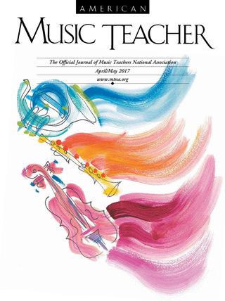 American Music Teacher cover art