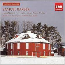 Image: Samuel Barber Vocal and Chamber Works Album Art