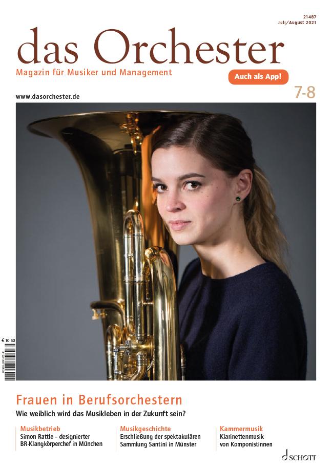 Das Orchester magazine cover art