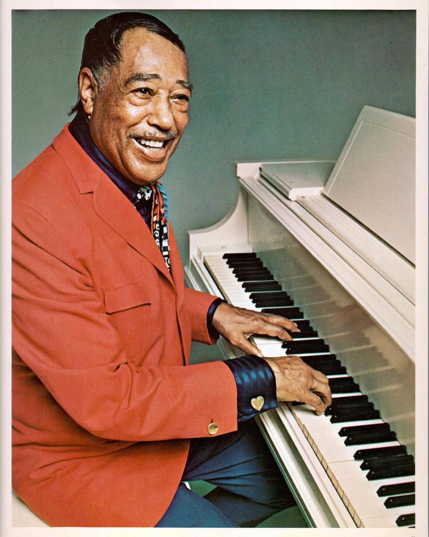 Image: Duke Ellington at the piano