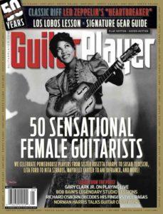 Guitar Player Magazine cover art