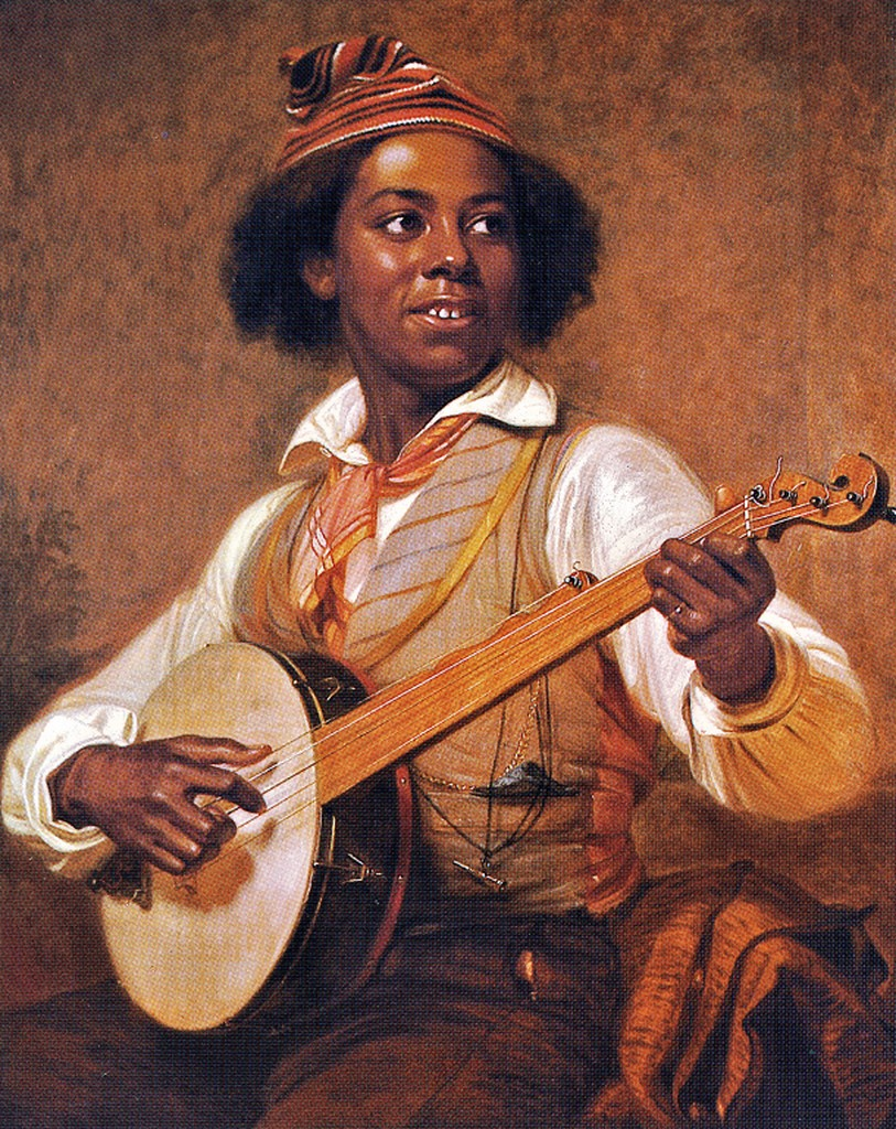 The Banjo Player by William Sidney Mount