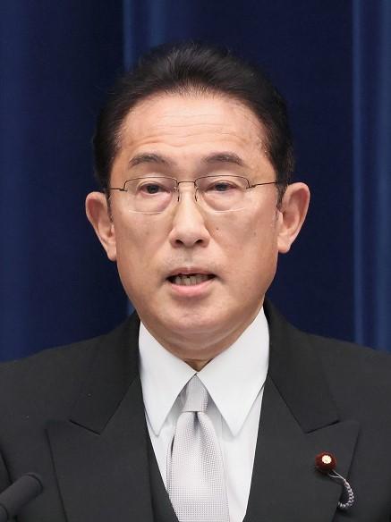 Image: Japanese Prime Minister Fumio Kishida