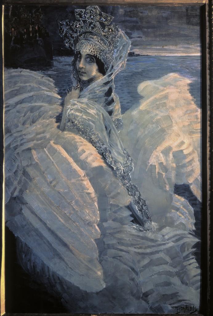 Image: Swan Princess by Mikhail Vrubel