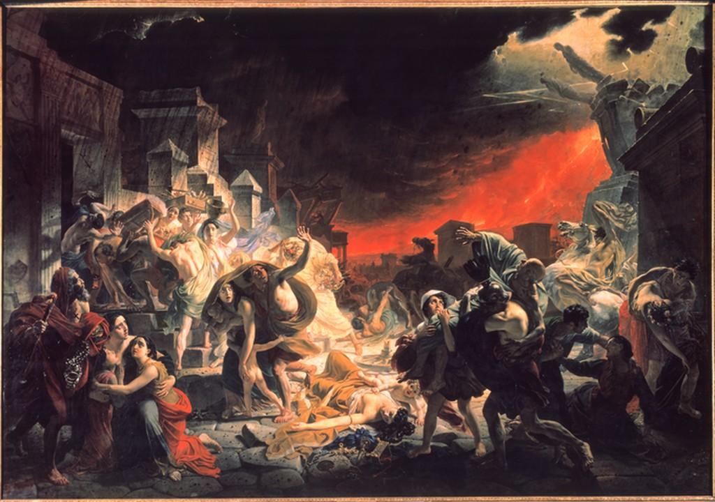 Image: The Last Day of Pompeii by Karl Bryullov