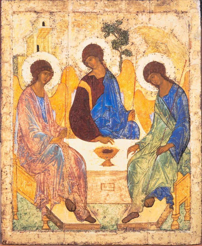 Image: Holy Trinity (Troitsa) by Andrey Rublyov