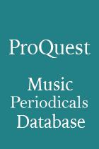 ProQuest Music Periodicals Database Logo