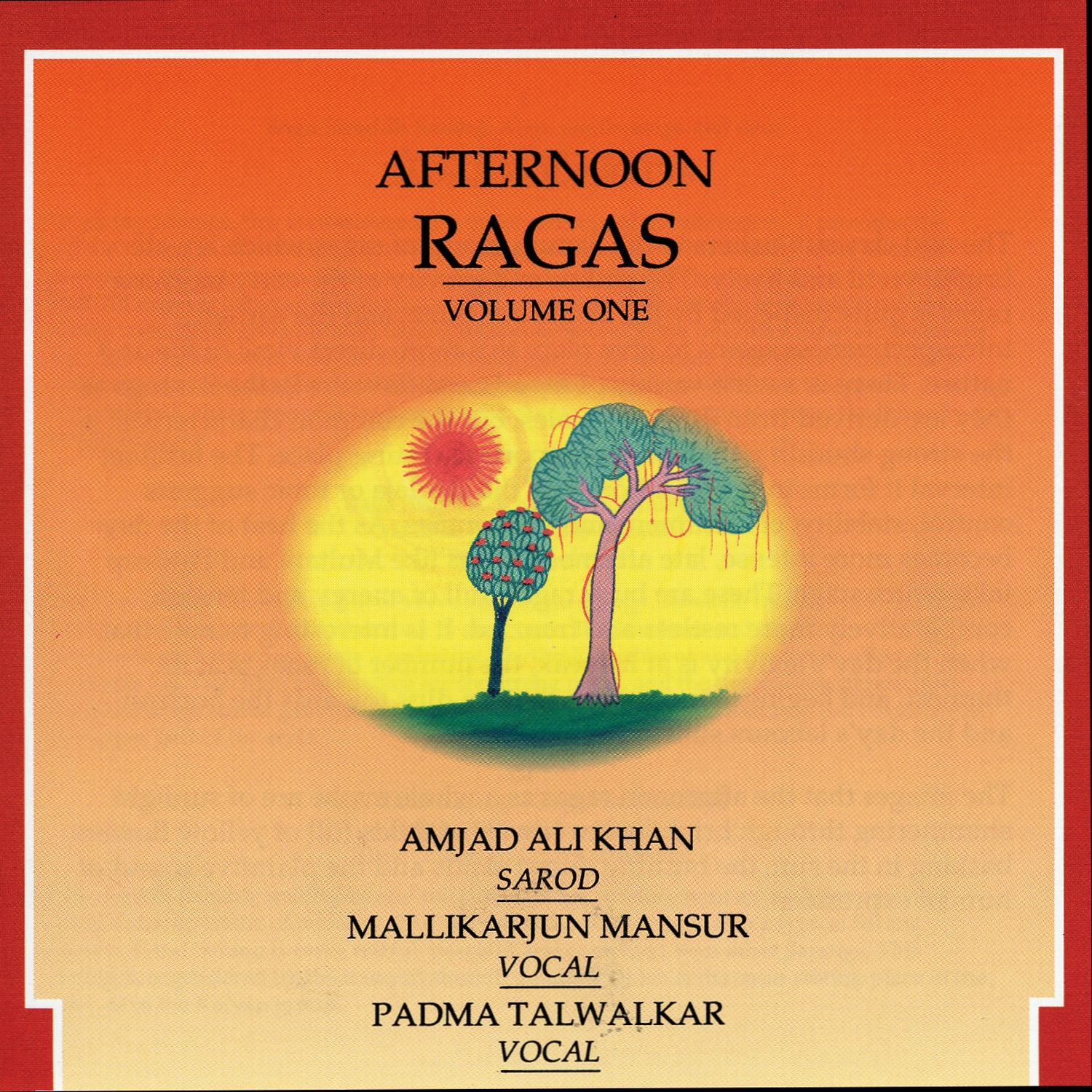Afternoon Ragas Cover Art