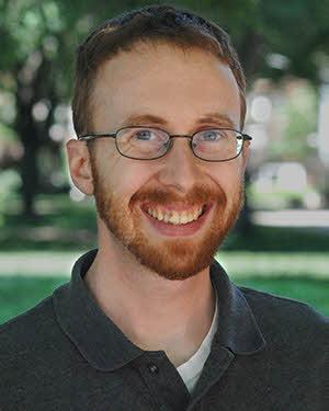 Librarian Eric Bradley