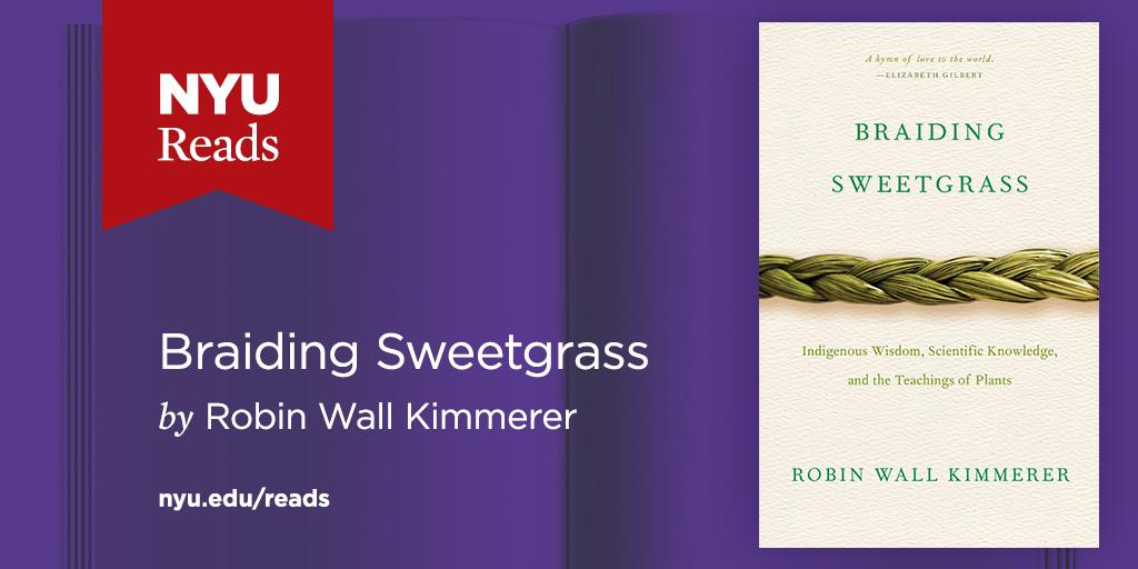 Braiding Sweetgrass Book Banner.