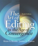 Book cover from The Art of Editing in the Age of Convergence